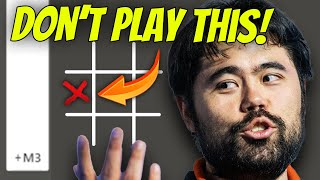 How to LOSE aт Tic Tac Toe