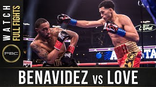 benavidez vs Love Full Fight: March 16, 2019 | PBC on FOX PPV