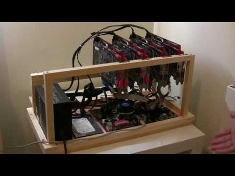 DIY Build - 6 X GPU Wooden Mining Rig Frame