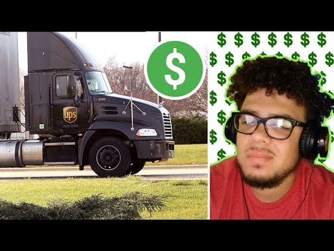 How It's Like Working For UPS As A Driver | How Much UPS Drivers Make