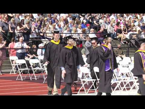 Mansfield University Spring Commencement 2018
