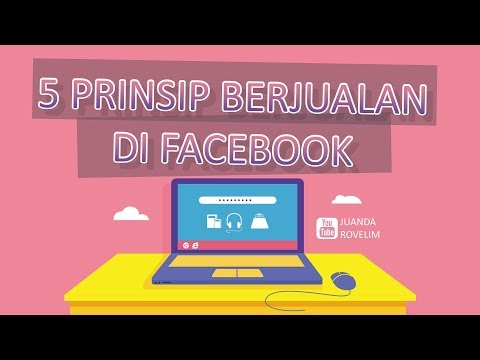 Cara Sukses Bisnis Online Lewat Facebook - 5 Prinsip Berjualan Di FB