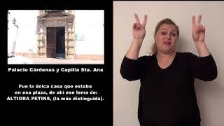 Palacio Cardenas  y Capilla Sta  Ana