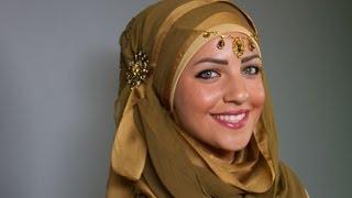 حجاب فاشون مع لوك الحجاب الهندي