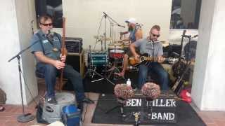"Ben Miller Band  ""Stone Pony Blues"" at the Black Swamp Arts Festival 2013"