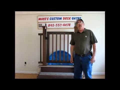 Pool Deck Gate Ideas 999d1271214610t my new safety gate deck gate re Mikes Custom Deck Gates Swimming Pool Compliant Part Ii Wwwtrexdeckgatescom Youtube