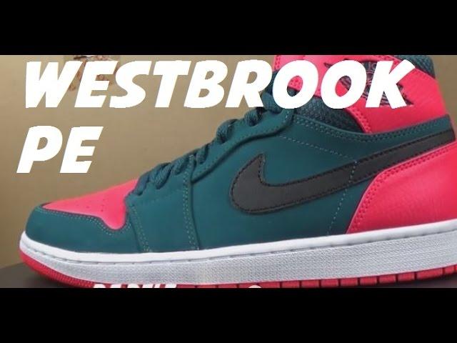 jordan 1 russell westbrook pe