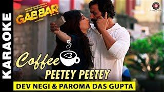 Coffee Peetey Peetey (Karaoke + Lyrical)   Gabbar Is Back   Akshay Kumar &  …