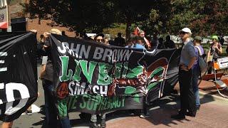 Marchers in North Carolina Protest Supremacists