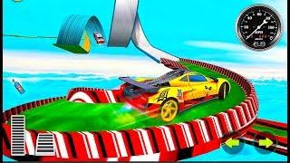 Mega Ramp Car Racing - Top Speed Racing - Stunts Car Games - Android GamePlay