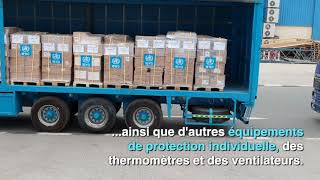 Le premier ''vol de solidarité'' de l'ONU part avec les équipements médicaux contre le COVID-19