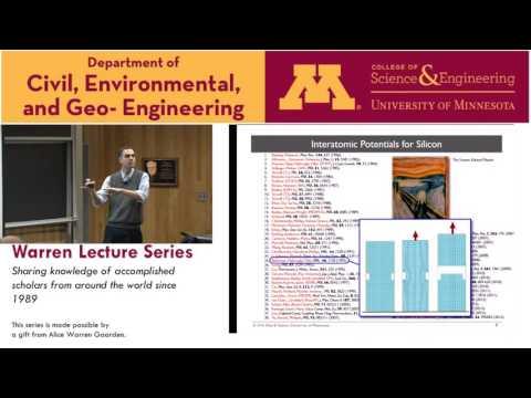 Warren Lecture Series,  Nov 18 2016, Ellad Tadmor, University of Minnesota