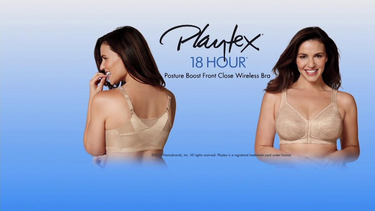 c32a11a900 Playtex 18-Hour Posture Boost Bra on QVC - YouTube