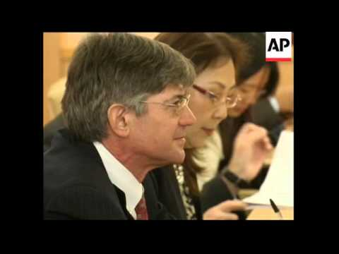 US Deputy Secretary of State James Steinberg visits Japan