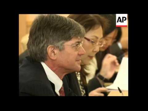 US Deputy Secretary of State James Steinberg visits Japan