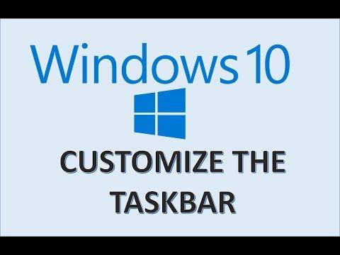 windows-10---taskbar-customization---how-to-change-and-customize-the-task-bar-style-&-settings-in-pc