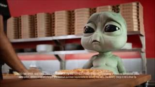 Pizza Hut commercials: homesick alien and a severely injured man - Extended Version