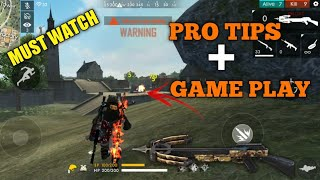 FREE FIRE | POWER OF CROSSBOW | RANK PRO TIPS AND 13 KILL FREE FIRE