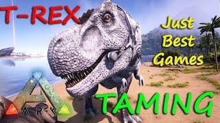 ARK Survival Evolved, Как приручить динозавра T-REX в АРК