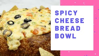 Spicy Cheese Bread Bowl