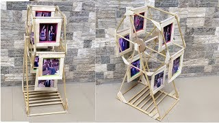 How to make swing wheel photo frame