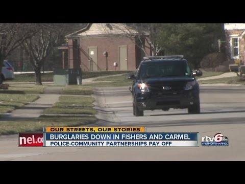 Burglaries down in Fishers and Carmel