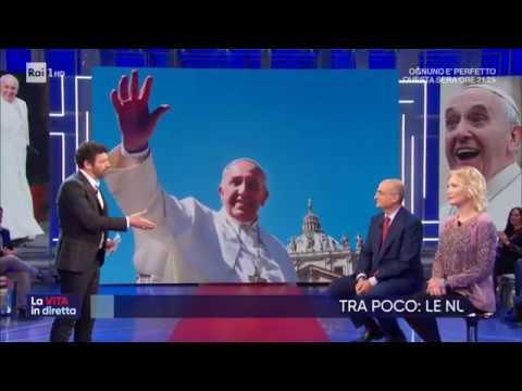 Il compleanno del Papa, festa a San Pietro - La vita in diretta 17/12/2019