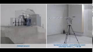 Učinek izolacije udarnega zvoka: togi priključek