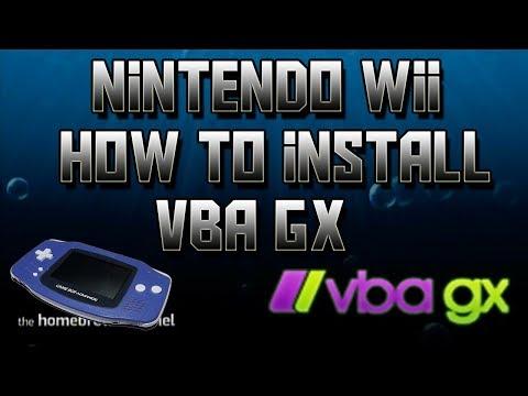 Nintendo Wii How To Install VBA GX (working)