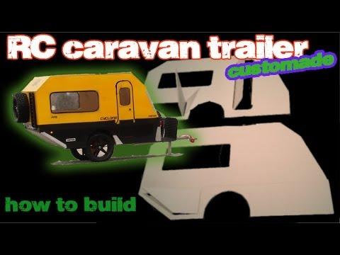 Rc Caravan Trailer Off Road Tamiya Cc01 Youtube