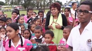 Ministry of Education Fiji: Motivational Song (Yadra Mada) by Vude Queen Laisa Vulakoro 2015