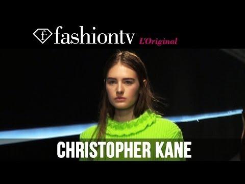 Karolina Kurkova at Christopher Kane Fall/Winter 2014-15 | London Fashion Week LFW | FashionTV