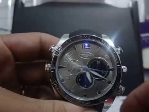 6b36731eea2 Relógio Espião Com Visão Noturna!Vídeo Manual. - YouTube