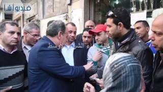 بالفيديو:محمد سلطان محافظ الأسكندرية يتفقد مجمع استهلاكي ومخبزألي بنطاق بحي شرق \