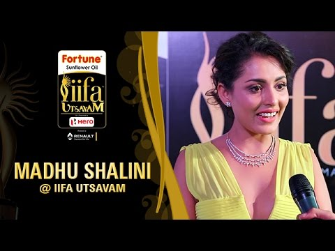 Madhu Shalini Is All Set to Have Fun   IIFA Utsavam 2017   Talk With The Stars   Green Carpet