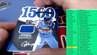 2016 Panini Pantheon Baseball Hobby Box ID 16PANTHBBRT204