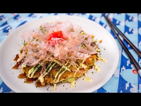 Okonomiyaki Recipe (Osaka Style) - Pai's Kitchen!