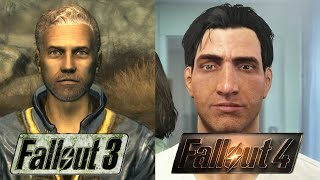 Fallout 3 VS Fallout 4 Graphics comparison