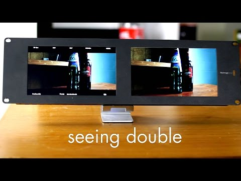 Blackmagic Design Smartscope Duo 4k Smartview Duo Lcd Monitors Overview Review Youtube