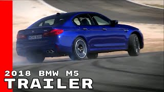 2018 BMW M5 Commercial Trailer