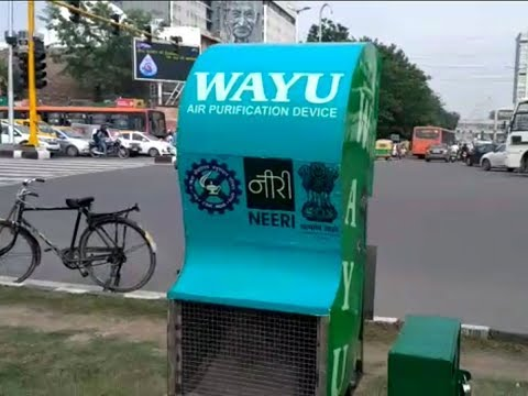 Delhi gets two air purifying devices to control air pollutio
