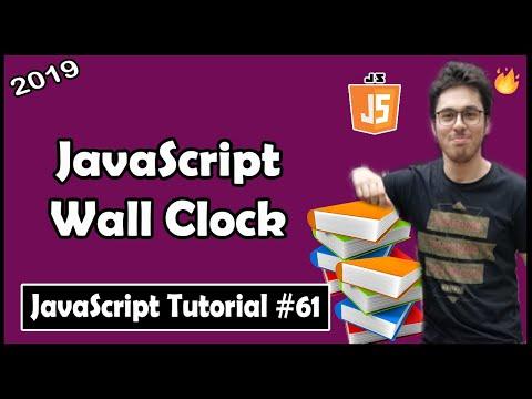 JavaScript Wall Clock: Exercise 6   JavaScript Tutorial In Hindi #61 thumbnail
