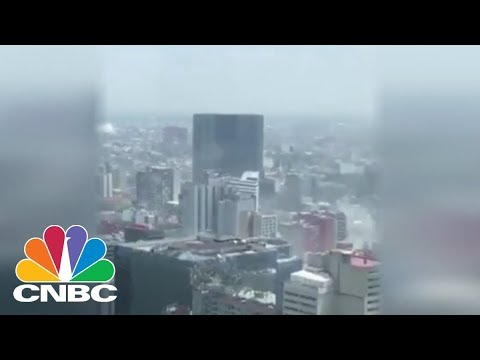 Strong 7.1 Magnitude Earthquake Felt In Mexico City | CNBC Mp3