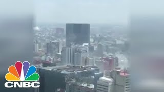 Strong 7.1 Magnitude Earthquake Felt In Mexico City | CNBC