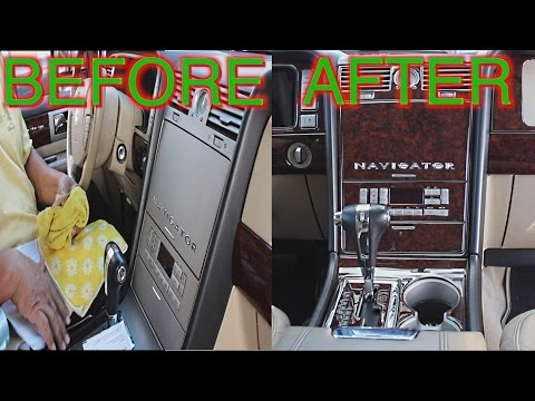 Upgrade Lincoln Navigator Interior | Standard to Premium Package | Install Wood Trim