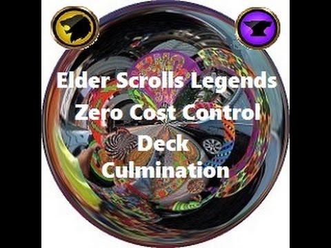 Elder Scrolls Legends: Zero Cost Beginner Control Deck