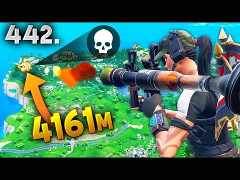 4161m NEW LONGEST RECORD KILL..!!! Fortnite Daily Best Moments Ep.442 Fortnite Battle Royale Funny thumbnail