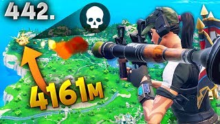 4161m NEW LONGEST RECORD KILL..!!! Fortnite Daily Best Moments Ep.442 Fortnite Battle Royale Funny