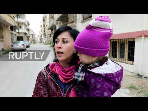 Syria: Life returns to Homs despite war devastation as 10th anniv of start of Syrian war approaches