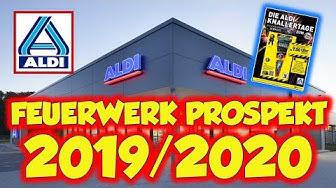 ALDI SILVESTER FEUERWERK PROSPEKT 2019 / 2020 |💥 inkl. NEUHEITEN 😍| # ProfessorPyro